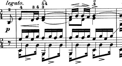 ショパン「別れの曲」Op.10-3ホ長調 ピアノ楽譜1