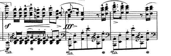 ショパン「ポロネーズ第6番『英雄ポロネーズ』変イ長調Op.53」コーダのピアノ楽譜
