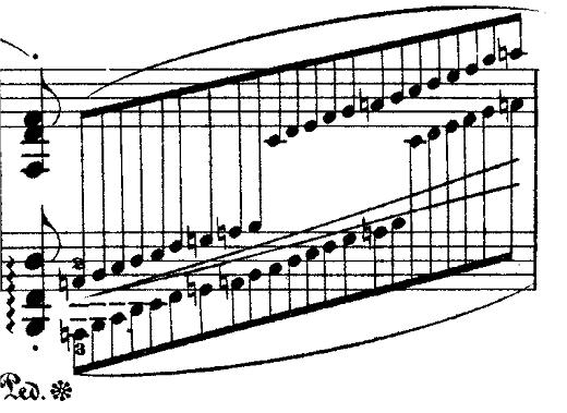 ショパン「ポロネーズ第6番『英雄ポロネーズ』変イ長調Op.53」ユニゾンのピアノ楽譜