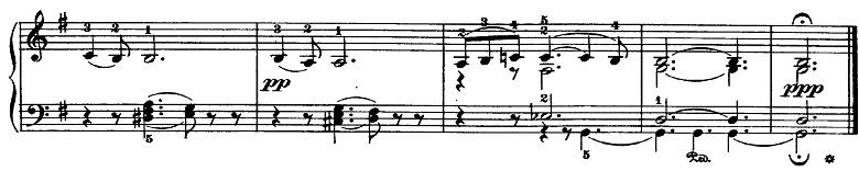 チャイコフスキー「四季5月『白夜(5月の夜)』ト長調』ピアノ楽譜7