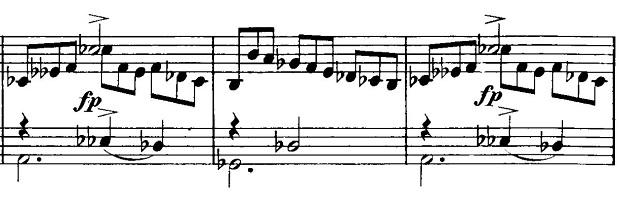 シューベルト「即興曲第2番Op.90-2」ピアノ楽譜3