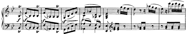 ベートーヴェン「ピアノソナタ第19番ト短調Op.49-1第1楽章」ピアノ楽譜3