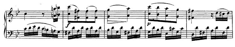 ベートーヴェン「ピアノソナタ第19番ト短調Op.49-1第1楽章」ピアノ楽譜4