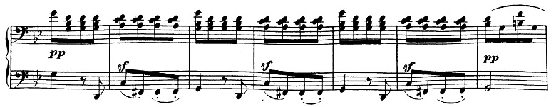 ベートーヴェン「ピアノソナタ第19番ト短調Op.49-1第1楽章」ピアノ楽譜7
