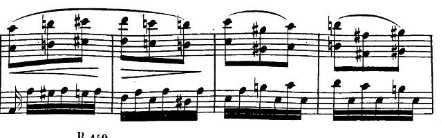 ベートーヴェン「ピアノソナタ第17番「テンペスト」ニ短調Op.31-2第3楽章」ピアノ楽譜5