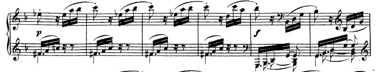 ベートーヴェン「ピアノソナタ第17番「テンペスト」ニ短調Op.31-2第3楽章」ピアノ楽譜6