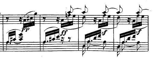ベートーヴェン「ピアノソナタ第17番「テンペスト」ニ短調Op.31-2第3楽章」ピアノ楽譜9