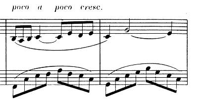 ドビュッシー「2つのアラベスク第1番ホ長調L.66-1」ピアノ楽譜3