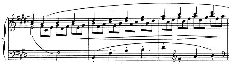 ドビュッシー「2つのアラベスク第1番ホ長調L.66-1」ピアノ楽譜6