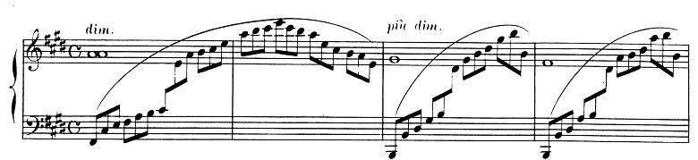 ドビュッシー「2つのアラベスク第1番ホ長調L.66-1」ピアノ楽譜9