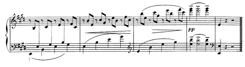 ドビュッシー「2つのアラベスク第1番ホ長調L.66-1」ピアノ楽譜10