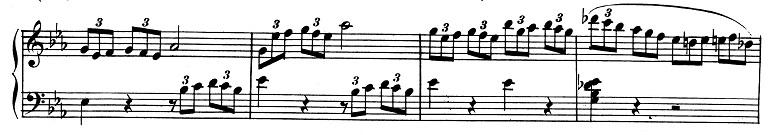 ベートーヴェン「ピアノソナタ第8番「悲愴」ハ短調Op.13第3楽章」ピアノ楽譜8