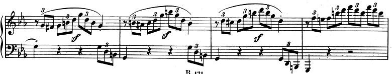 ベートーヴェン「ピアノソナタ第8番「悲愴」ハ短調Op.13第3楽章」ピアノ楽譜13
