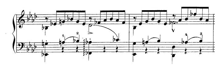リスト「愛の夢第3番変イ長調S.541-3」ピアノ楽譜5