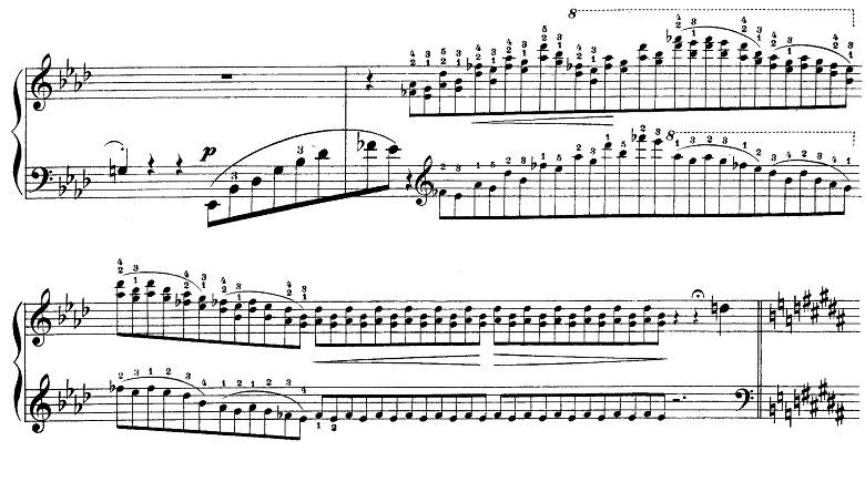 リスト「愛の夢第3番変イ長調S.541-3」ピアノ楽譜6