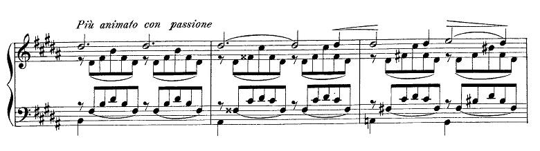 リスト「愛の夢第3番変イ長調S.541-3」ピアノ楽譜7