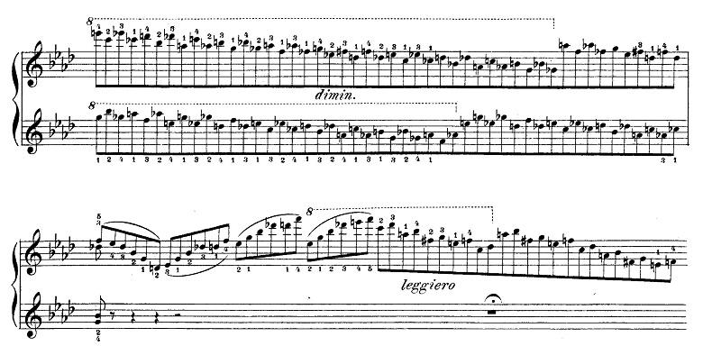 リスト「愛の夢第3番変イ長調S.541-3」ピアノ楽譜10