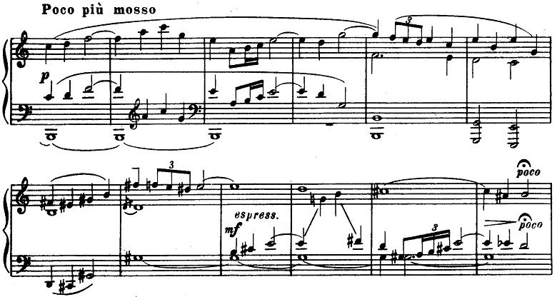 プロコフィエフ「ピアノソナタ第6番「戦争ソナタ」イ長調Op.82第1楽章」ピアノ楽譜4