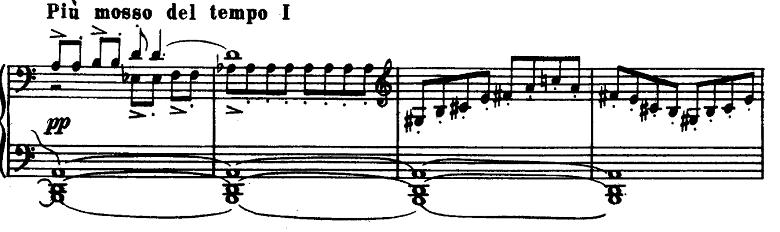 プロコフィエフ「ピアノソナタ第6番「戦争ソナタ」イ長調Op.82第1楽章」ピアノ楽譜5
