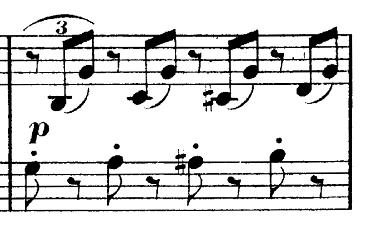 ブルグミュラー「25の練習曲第25番「貴婦人の乗馬」ハ長調Op.100-25」ピアノ楽譜6