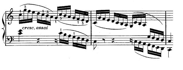 ブルグミュラー「25の練習曲第25番「貴婦人の乗馬」ハ長調Op.100-25」ピアノ楽譜7