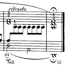 ショパン「24の前奏曲第15番『雨だれの前奏曲』変ニ長調Op.28-15」最後の部分のピアノ楽譜