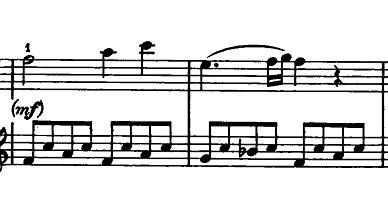 モーツァルト「ピアノソナタ第15(16)番ハ長調K.545」ピアノ楽譜9