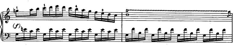 モーツァルト「ピアノソナタ第15(16)番ハ長調K.545」ピアノ楽譜10