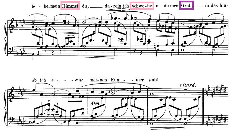 ロベルト・シューマン「献呈」変イ長調Op.25-1/ピアノ編曲:クララ・シューマン ピアノ楽譜2