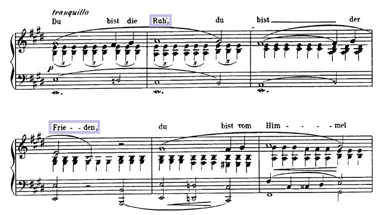 ロベルト・シューマン「献呈」変イ長調Op.25-1/ピアノ編曲:クララ・シューマン ピアノ楽譜3