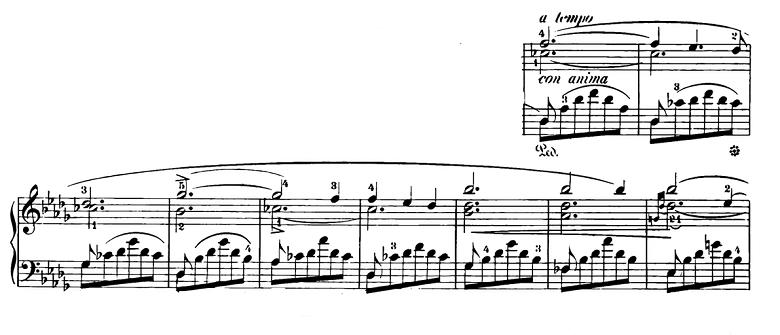 ショパン「スケルツォ第2番変ロ短調Op.31」ピアノ楽譜3