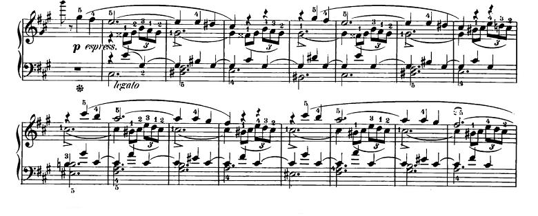 ショパン「スケルツォ第2番変ロ短調Op.31」ピアノ楽譜5