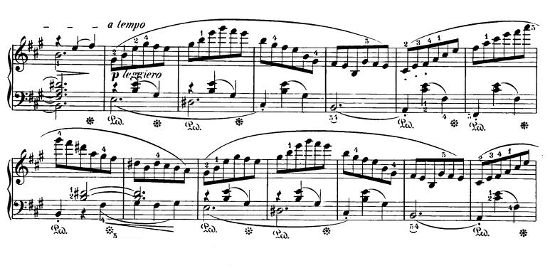ショパン「スケルツォ第2番変ロ短調Op.31」ピアノ楽譜6
