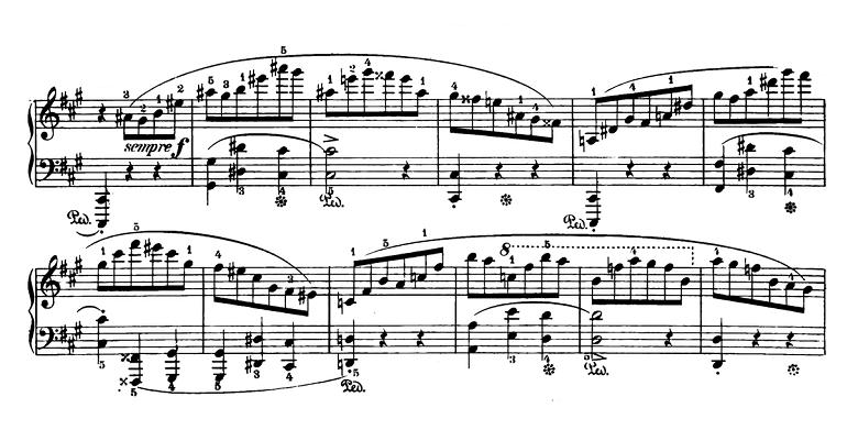 ショパン「スケルツォ第2番変ロ短調Op.31」ピアノ楽譜7