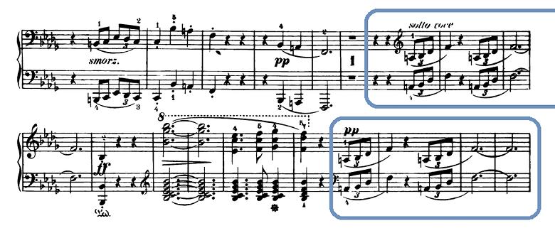 ショパン「スケルツォ第2番変ロ短調Op.31」ピアノ楽譜9
