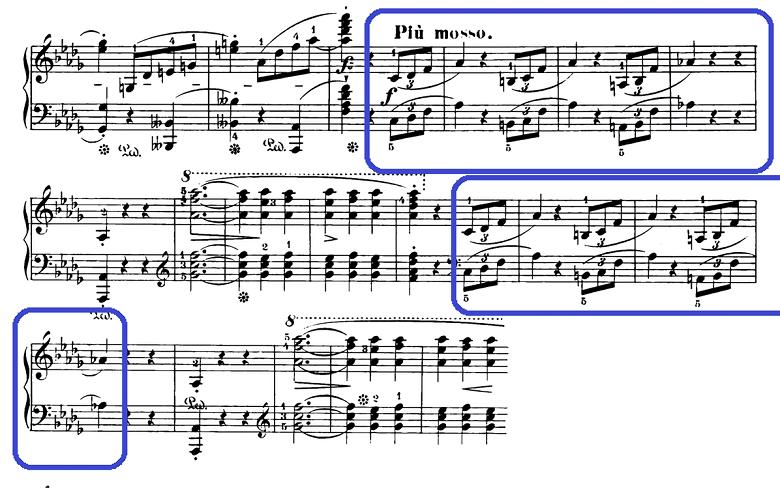 ショパン「スケルツォ第2番変ロ短調Op.31」ピアノ楽譜10