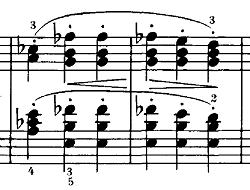 シューベルト『即興曲第4番op90-4』ピアノ楽譜2