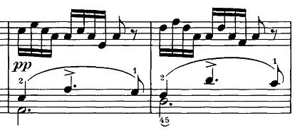 シューベルト『即興曲第4番op90-4』ピアノ楽譜3