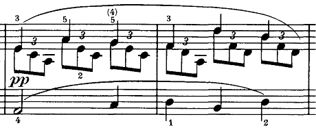 シューベルト『即興曲第4番op90-4』ピアノ楽譜4