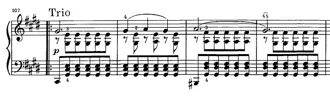 シューベルト『即興曲第4番op90-4』ピアノ楽譜7