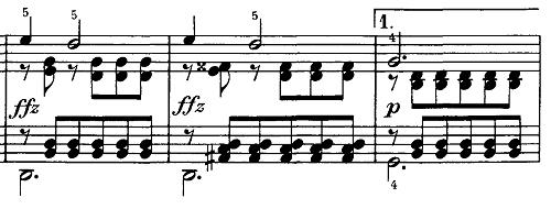 シューベルト『即興曲第4番op90-4』ピアノ楽譜8