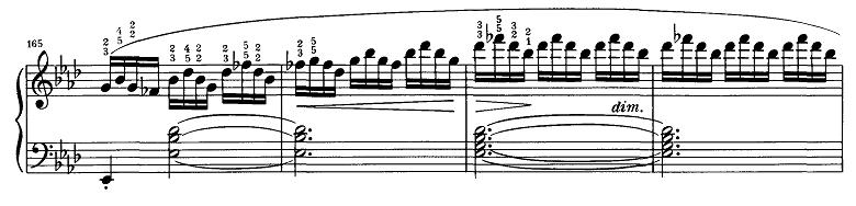 シューベルト『即興曲第4番op90-4』ピアノ楽譜9