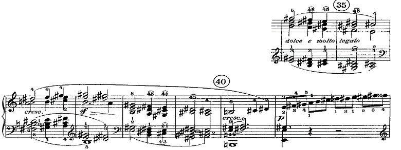 ベートーヴェン「ピアノソナタ第21番「ワルトシュタイン」ハ長調Op.53第1楽章」ピアノ楽譜4