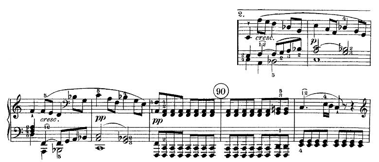 ベートーヴェン「ピアノソナタ第21番「ワルトシュタイン」ハ長調Op.53第1楽章」ピアノ楽譜5
