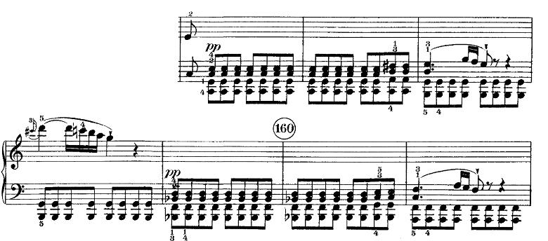 ベートーヴェン「ピアノソナタ第21番「ワルトシュタイン」ハ長調Op.53第1楽章」ピアノ楽譜7