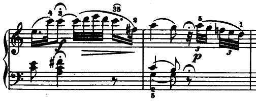 モーツァルト「「きらきら星変奏曲」ハ長調K.265」ピアノ楽譜13