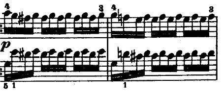 モーツァルト「「きらきら星変奏曲」ハ長調K.265」ピアノ楽譜15