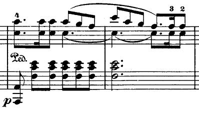 メンデルスゾーン「無言歌集第1巻第3曲「狩の歌」イ長調Op.19-3」ピアノ楽譜3
