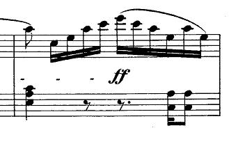 メンデルスゾーン「無言歌集第1巻第3曲「狩の歌」イ長調Op.19-3」ピアノ楽譜8