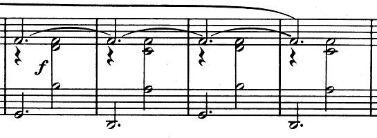 エリック・サティ「3つのジムノペディ」第1番ニ長調 ピアノ楽譜2